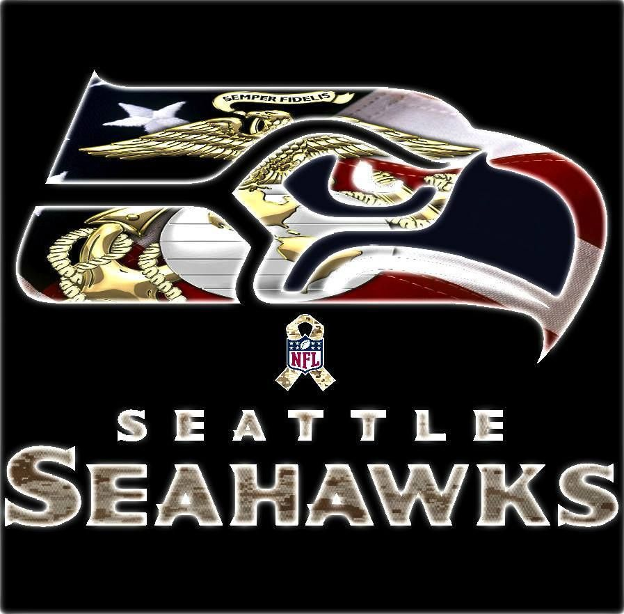 Seahawks Semper Fi Seattle Seahawks Football Pinterest Semper