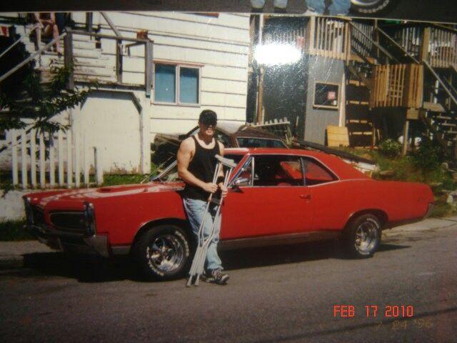 My brotha & my ride! 67 GTO