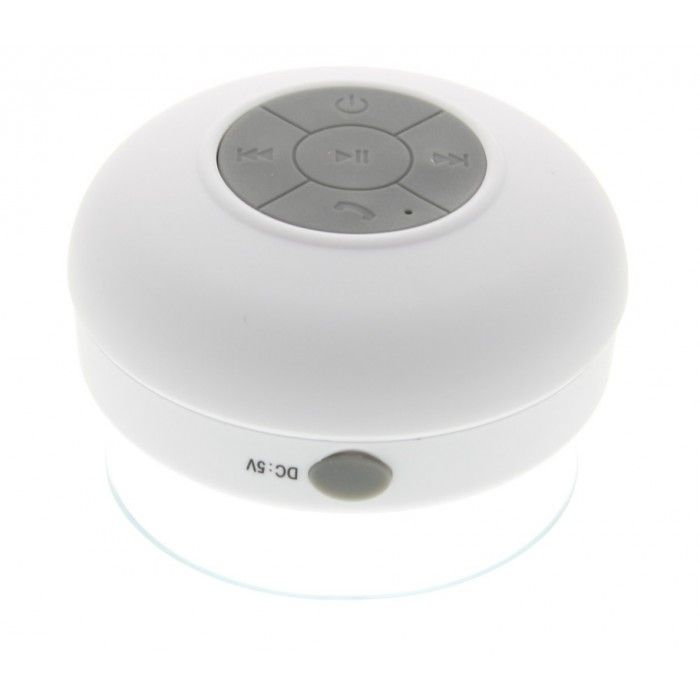 Waterdichte bluetooth badkamer speaker wit - Tablet-Supplies.nl ...