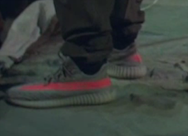 d1e2c4f682f3f New adidas Yeezy 350 Boost Spotted at Yeezy Season 3