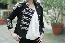 Officier Un Style Recherche Femme Zara Redingote Google Veste P6zqwZ6