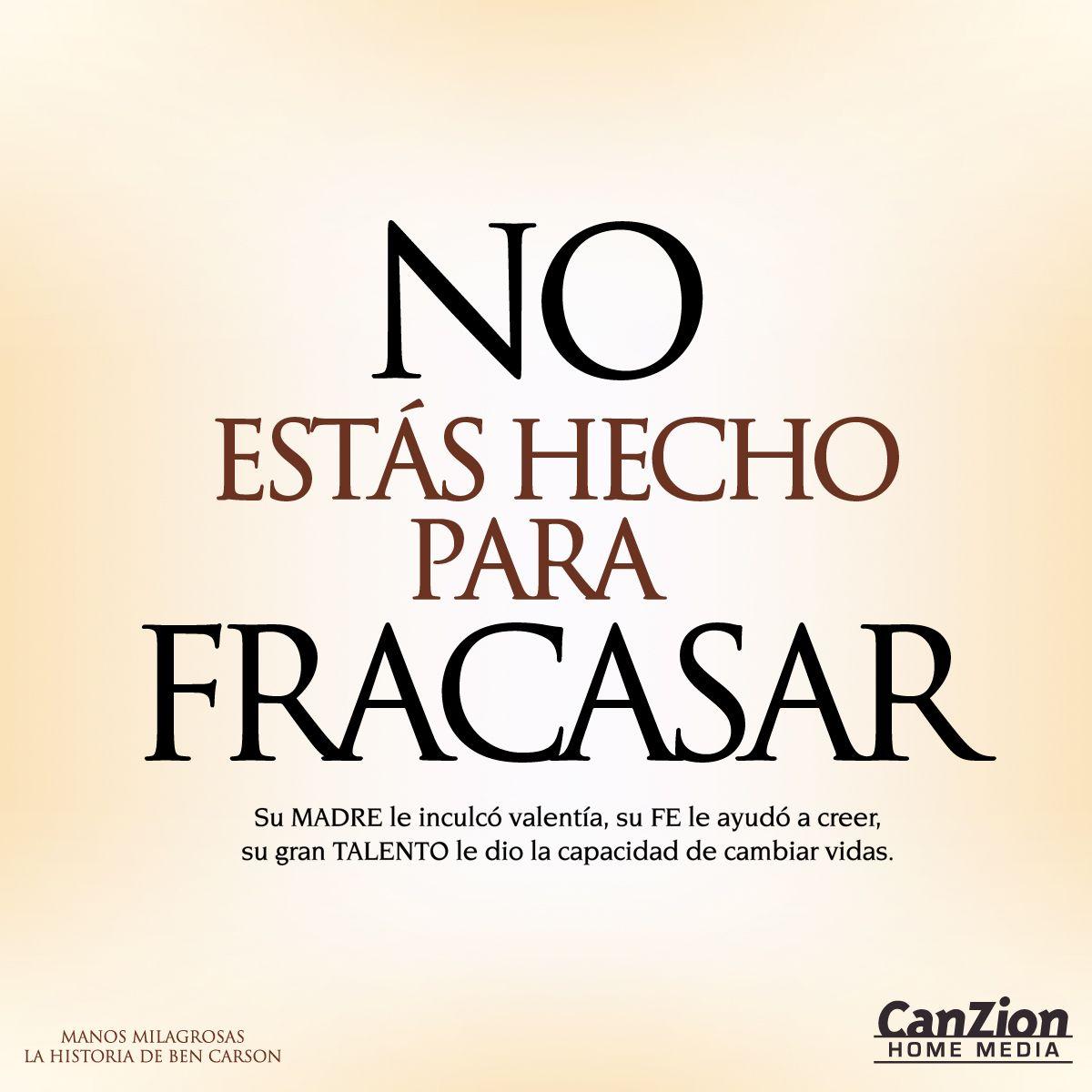 Canzion Home Media presenta #ManosMilagrosas. La historia del reconocido neurocirujano, Ben Carson, protagonizada por Cuba Gooding Jr. Disponible en #DVD  ➜ http://bit.ly/equipo_manos #HistoriasQueInspiran