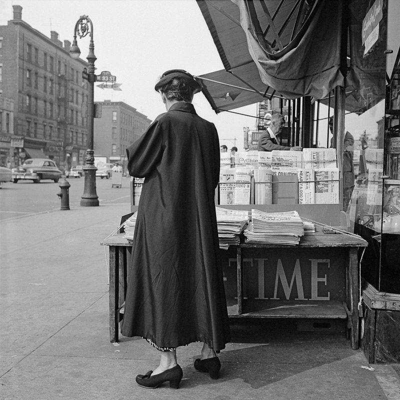 Vivian maier new york june 12 1954 bw photographyblack white