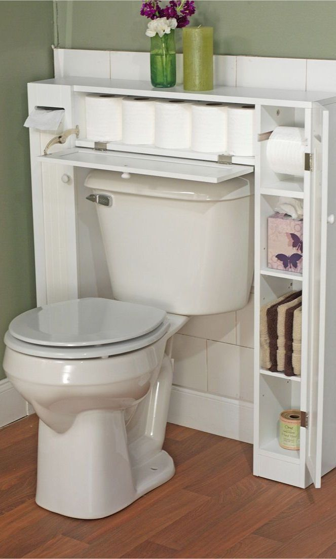 Smart Space Over Toilet Etagere White Tms Badrumsideer