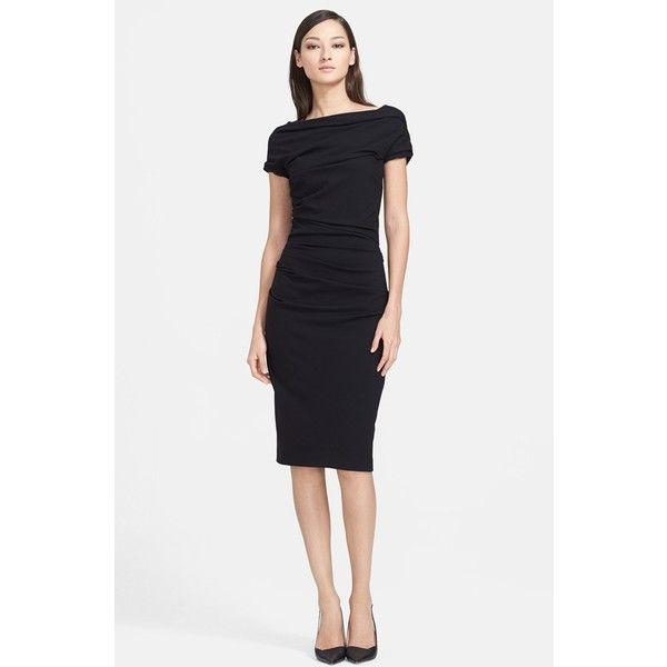 ESCADA 'Dondi' Ruched Jersey Dress