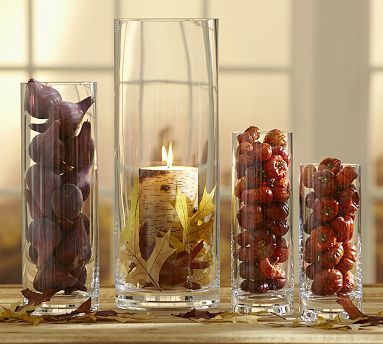 Aegean Clear Glass Vase, Extra-Large Clear glass vases, Glass and