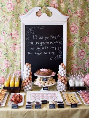 one day, this will be a fabulous idea for baby showers. by Natalie Larin