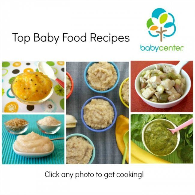 BabyCenters Most Popular Baby Food Recipes