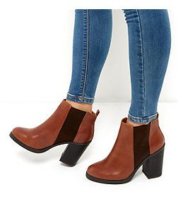 confortable Bottines Look cuir bf4XuwL5MS