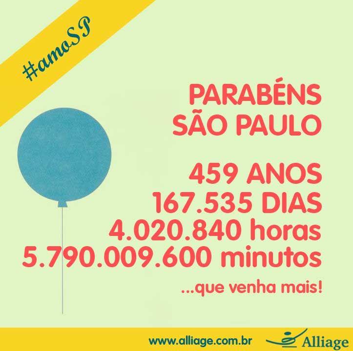 Parabéns São Paulo, #seulindo