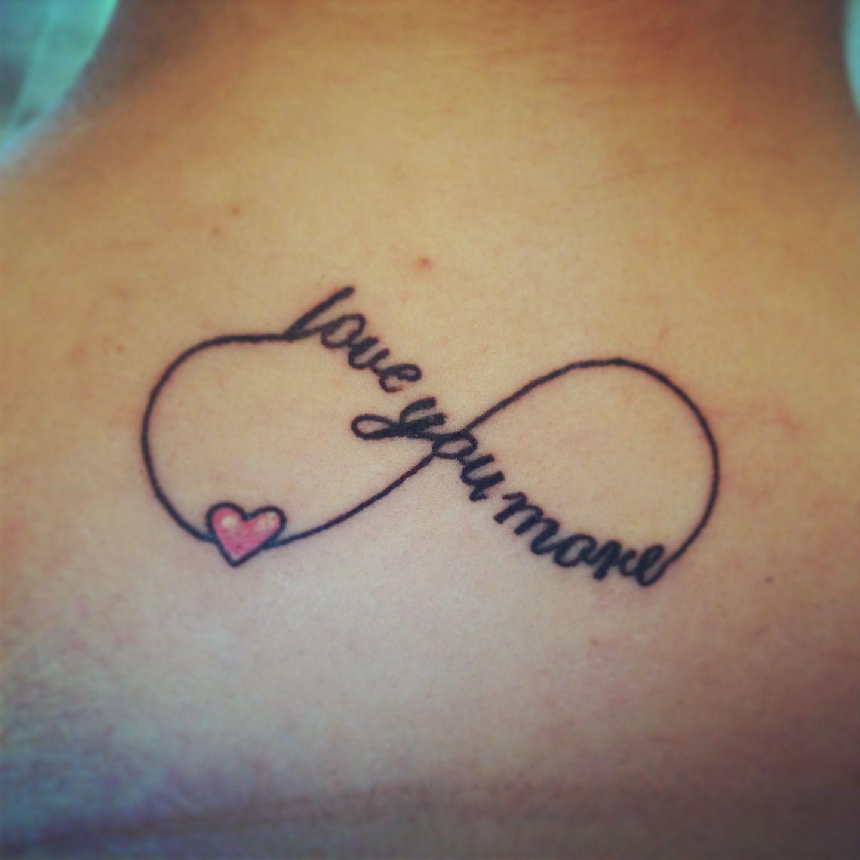 I Love You More Tattoos: Love You More ! #tattoos #infiniti #loveyoumore