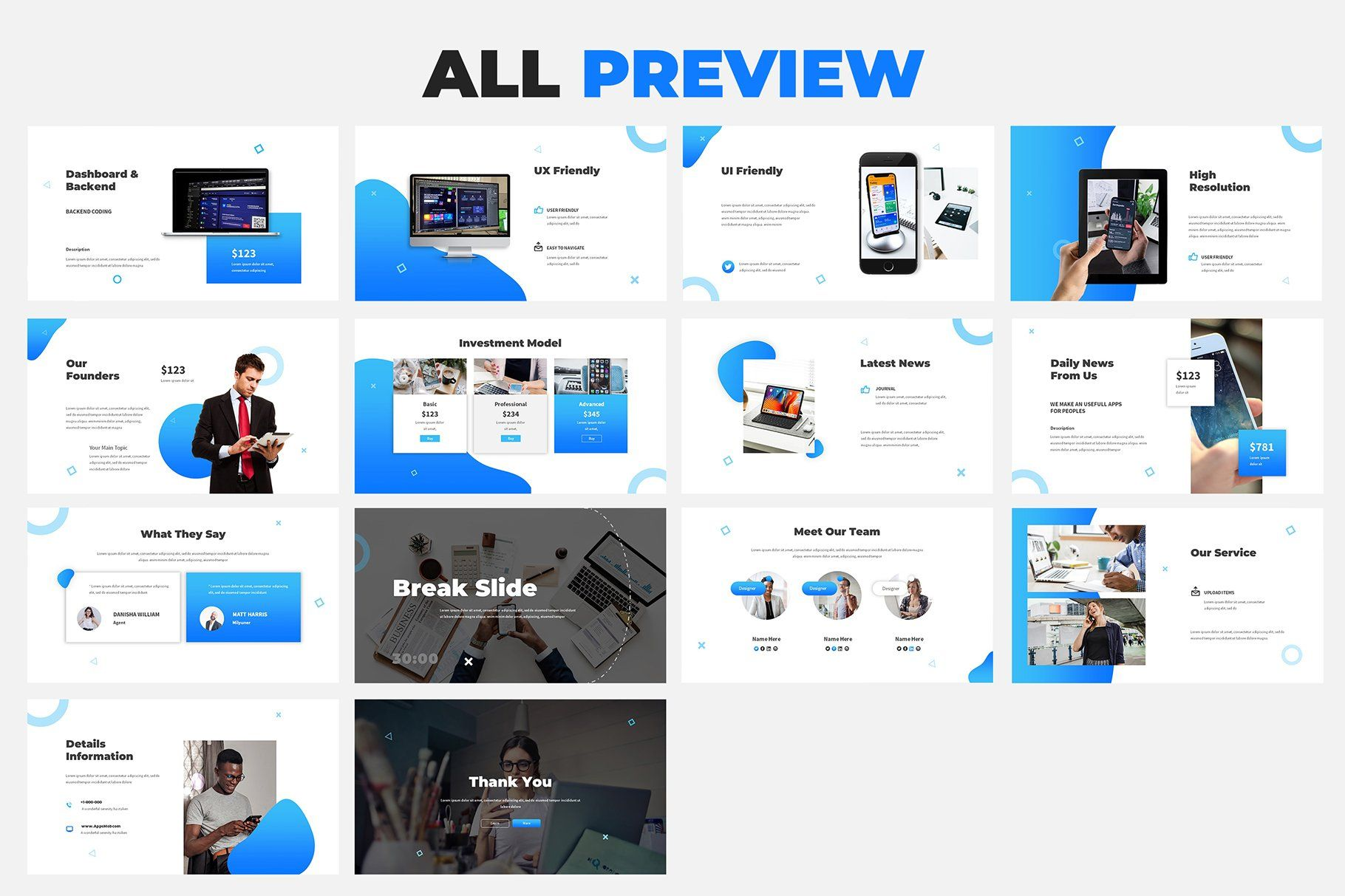 Mobile App Powerpoint Proposal Mobile App Keynote Business Presentation