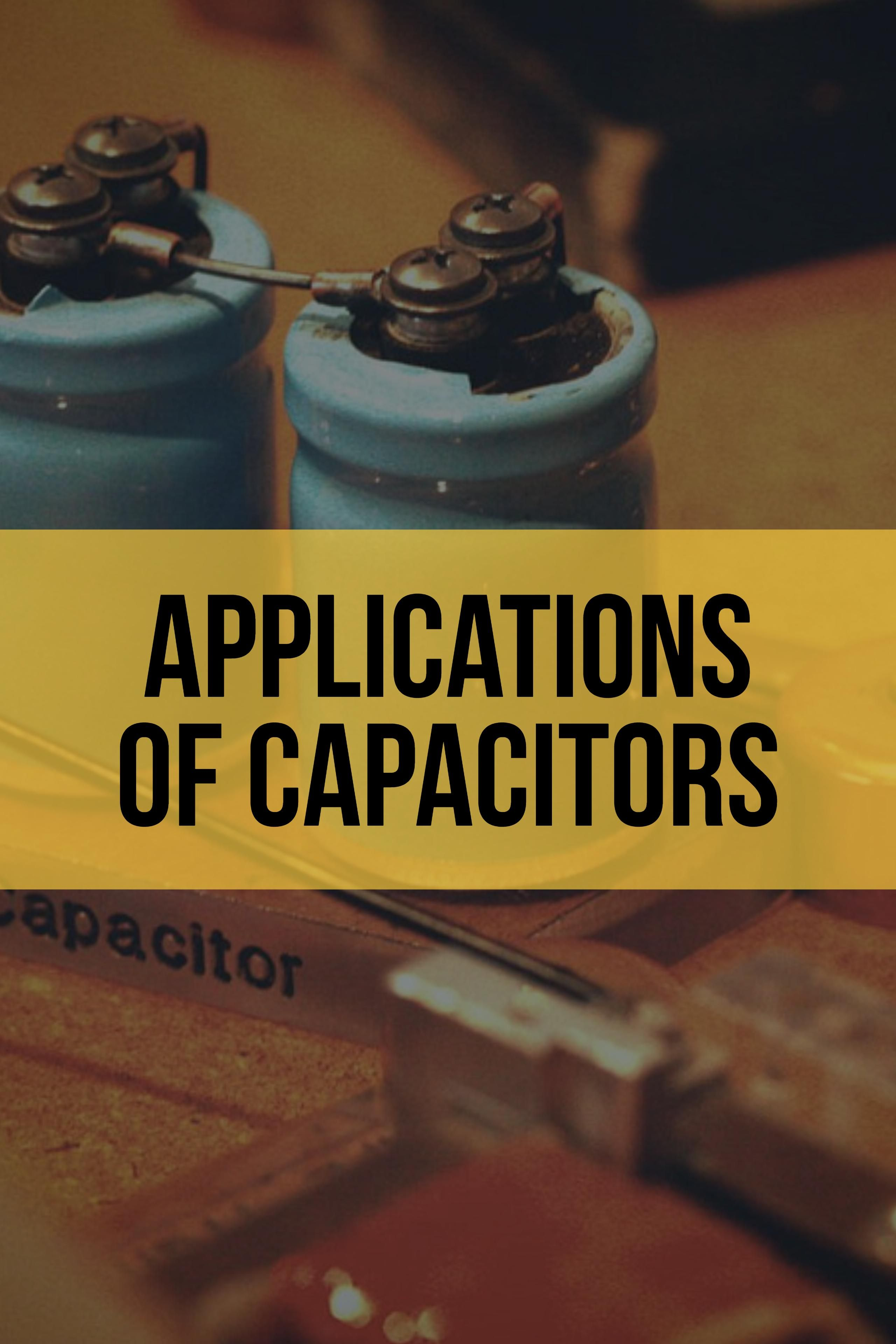 Capacitor Applications Decoupling Bypass Capacitors Capacitors Electronic Circuit Projects Electrical Engineering Projects