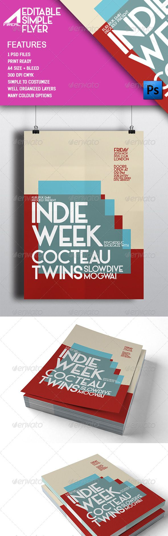 simple flyer templates