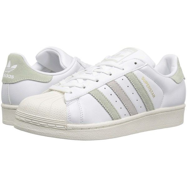 adidas Originals Superstar (Footwear White/Linen Green/Ice Purple).