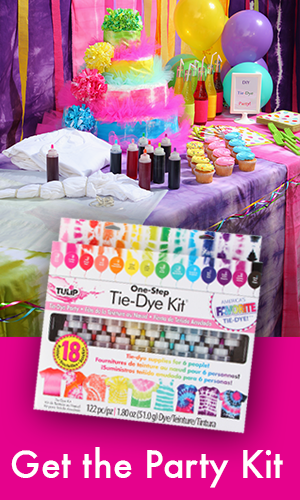 Tie Dye Your Summer | How To Throw a Tie Dye Party