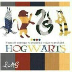 Harry Potter Color Palette Harry Potter Colors Color Palette Room Themes