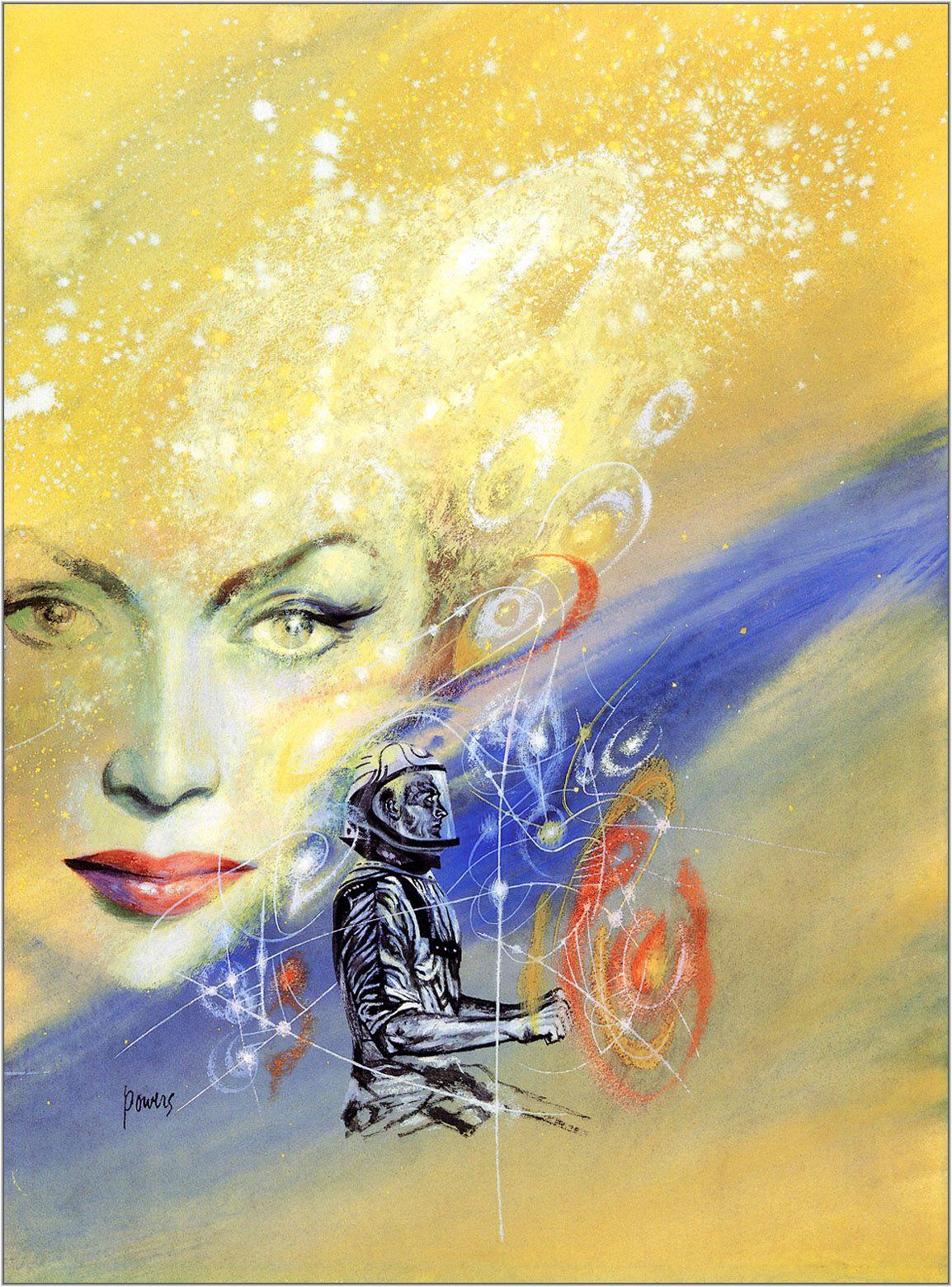 "artsytoad: "" Richard Powers, The Star of Life """