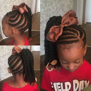 30 Hairstyles for Little Black Girls #girlhairstyles