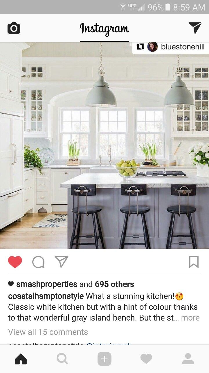 Pin by Leisa Neal on Cottage style   Classic white kitchen ...