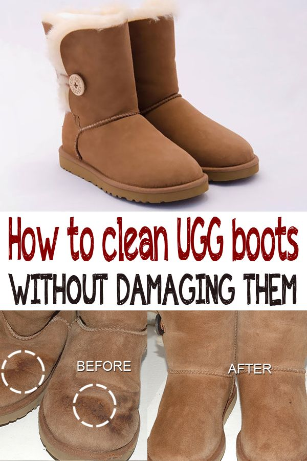 e58187ff255 How to clean UGG boots without damaging them | Cleaning | Uggs ...