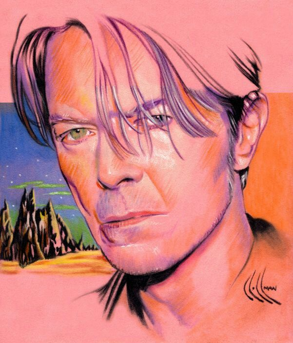 David bowie / fan club art ...