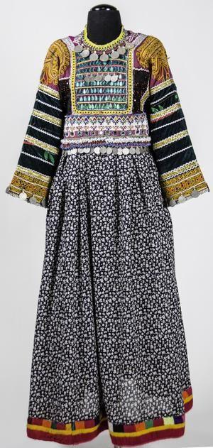 Afghan 1950 dress style