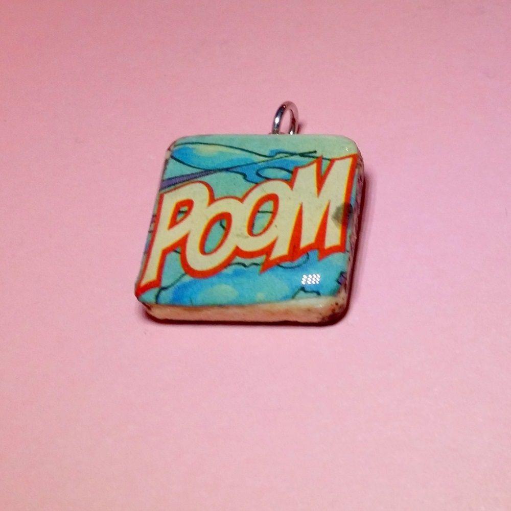 Im Selling Comic Book Pendant Poom 1000 Onselz Geeky Rockpaperscissorslizardspock Geek Pinterest Find This Pin And More On