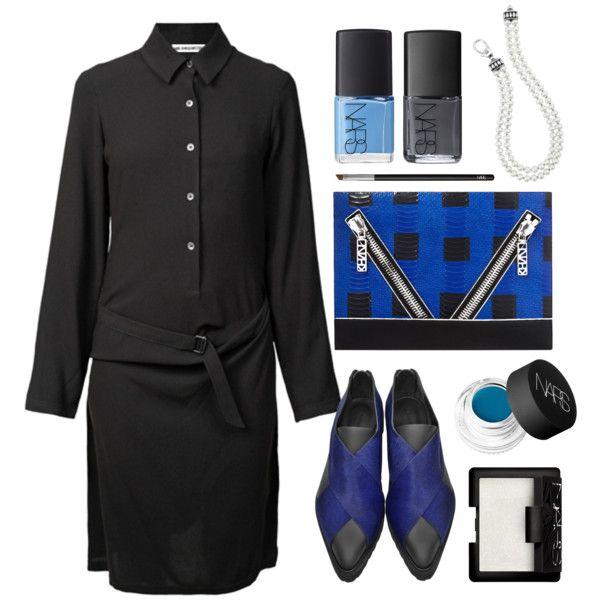 ANN DEMEULEMEESTER Lucia Black Dress