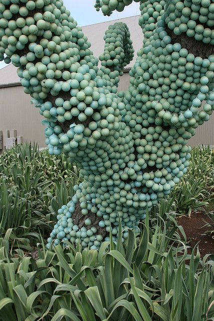 Não é suculentas natural, mas serve de idéia para o rosário... interessante!!