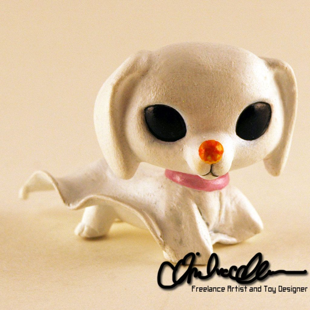 Zero from Nightmare Before Christmas custom LPS by thatg33kgirl ...