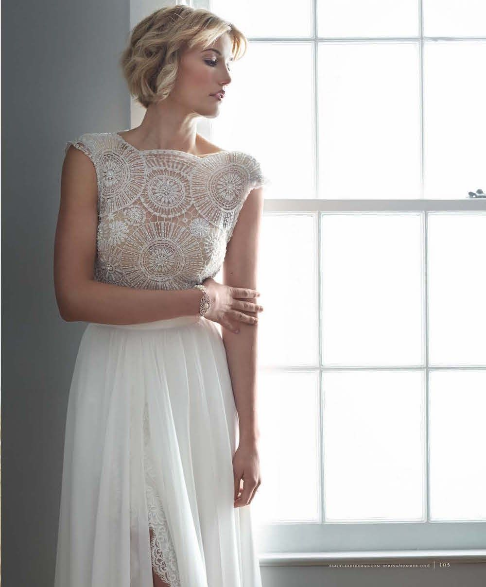 SeattleBride Features #hermosa by #julievino and #paradisocouture ...