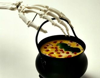 Bewitching hot pepperoni cheese dip