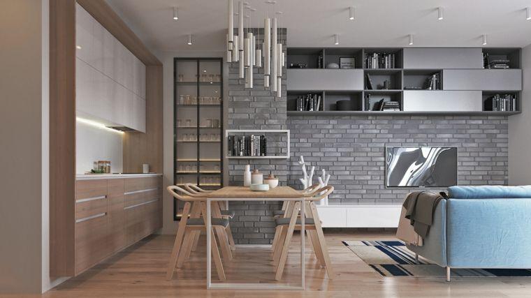1001 Idee Per Cucina Soggiorno Open Space Idee Di