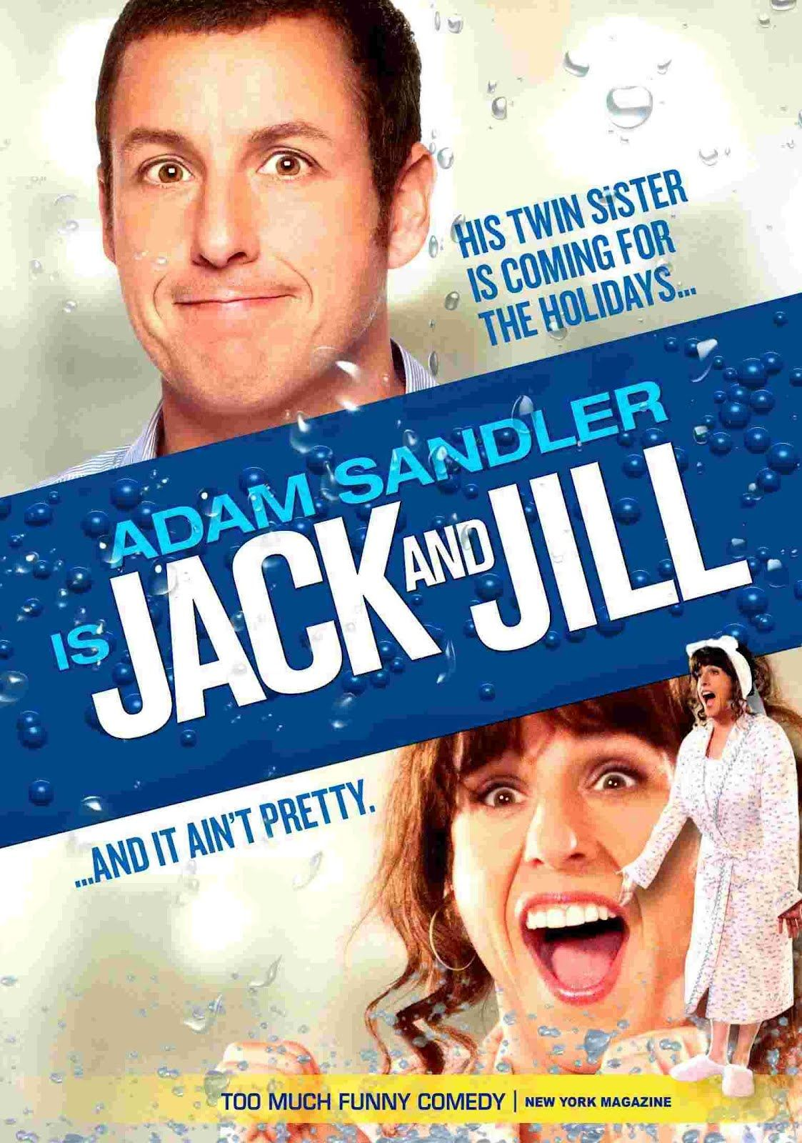 Jack and Jill. Funny comedy, Jack and jill, I movie