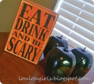 Super Fun and Easy Halloween Decorations!!! the Lou Lou Girls - fun and easy halloween decorations
