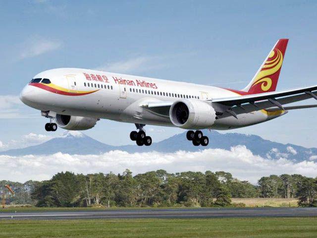 Hainan Airlines revient entre Shanghai et Bruxelles