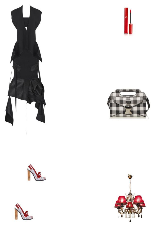 """""""Grace"""" by zoechengrace on Polyvore featuring Maticevski, Christopher Kane and Giorgio Armani"""