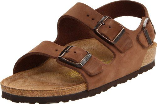 8c5da9c0cb Back-strap sandal in a variety of materials with fully adjustable straps and  shock-absorbing EVA sole. Features Birkenstock s classic suede-lined  cork latex ...