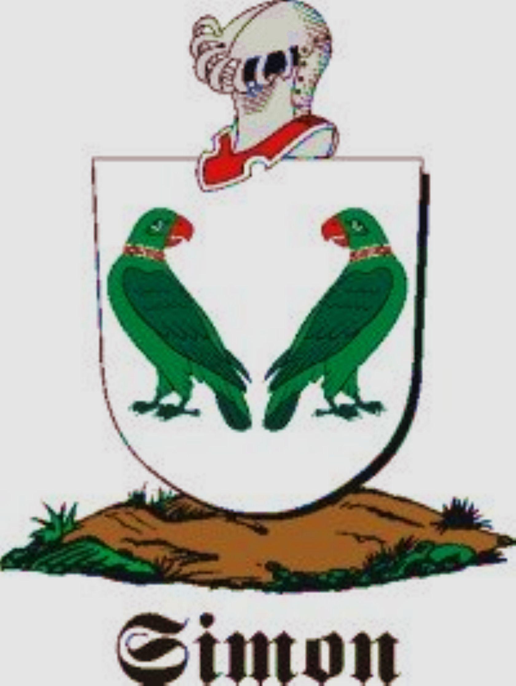 Heraldry simon crests simon family crest u simon coat of arms