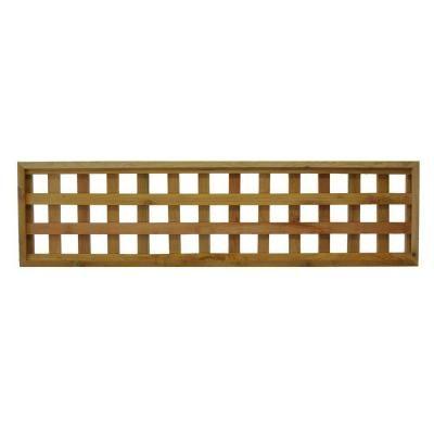 45 75 In X 12 In Checkerboard Pattern Western Red Cedar Framed