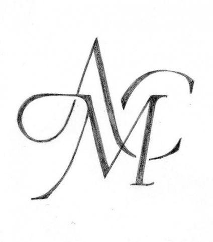 Best Tattoo Fonts Initials Monogram Design Ideas