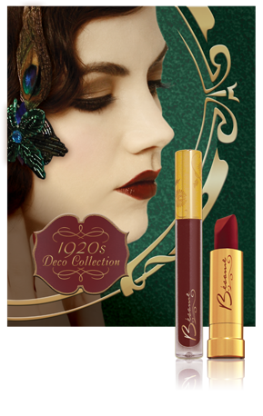 Gatsby is the Cat's Pajamas Vintage makeup, Besame