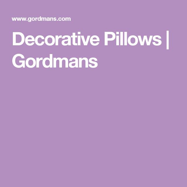 Decorative Pillows Gordmans Home Pinterest Pillows