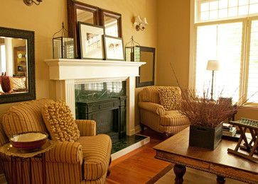 Interior repaint by warline painting traditional - Traditional living room paint colors ...