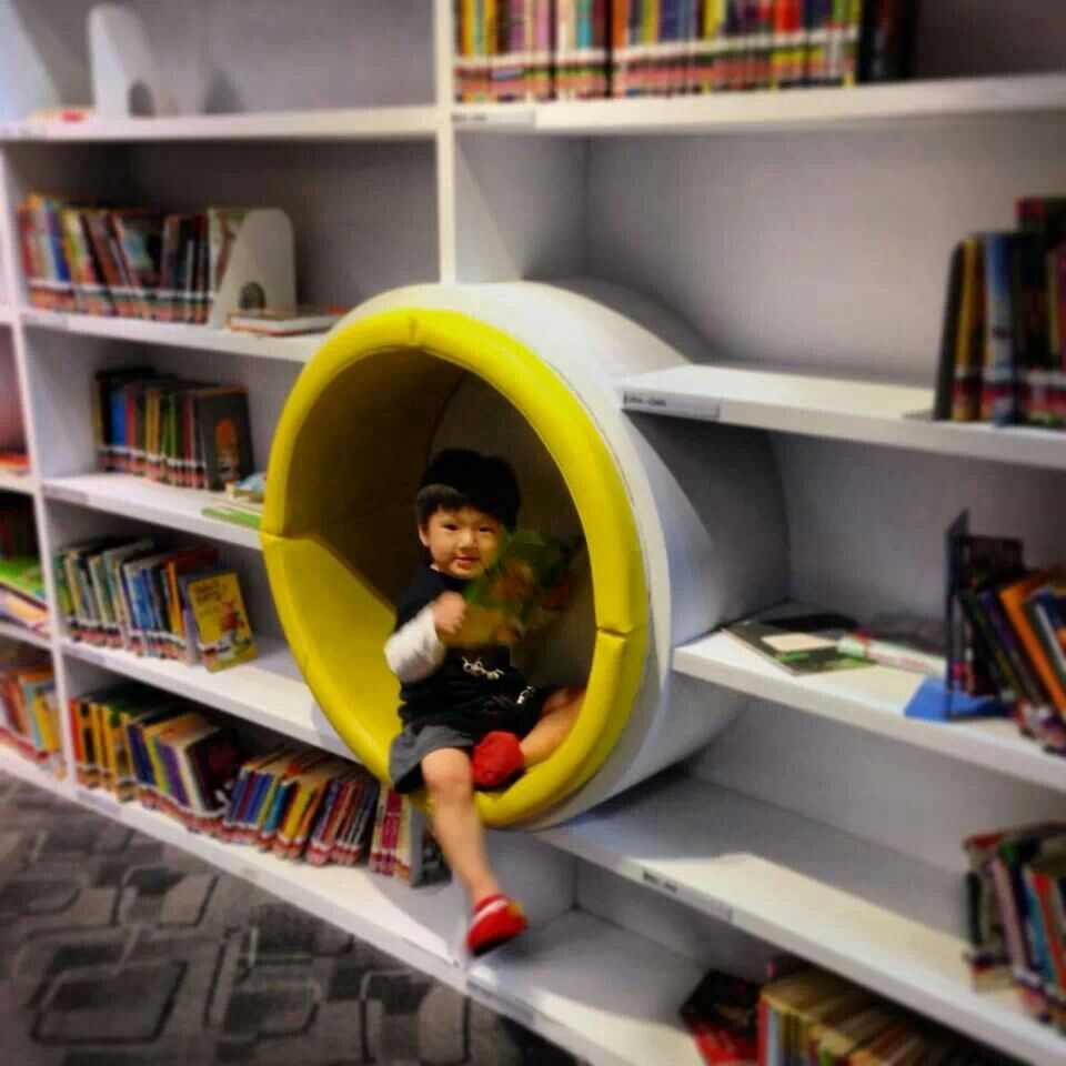 Comfy reading room
