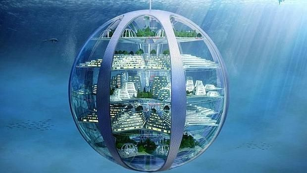 Ciudadesburbuja submarinas con casas inteligentes impresas en 3D, el futuro en 100 años is part of Landscape architecture Topography Plan - Durante el próximo siglo seremos testigos de más cambios radicales en la forma en que vivimos y nos relacionamos con nuestro entorno», predice el doctor AderinPocock
