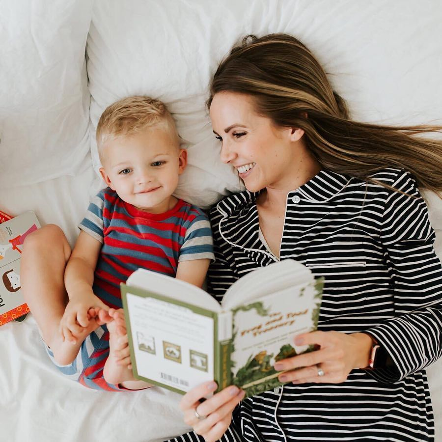 Morning Cuddles Stories Mom And Son Bond Affordable Bedding