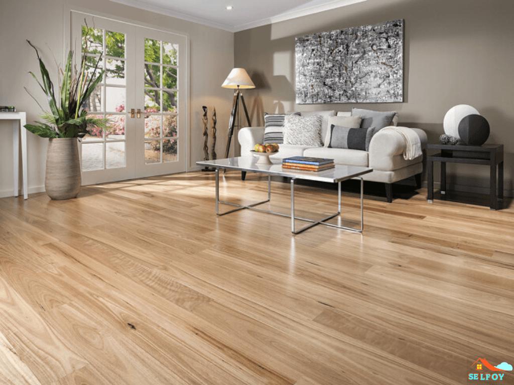 Floor Tiles With Vapor Barrier Quick Guide 2020 In 2020 Timber Tiles Light Oak Floors Condo Living Room