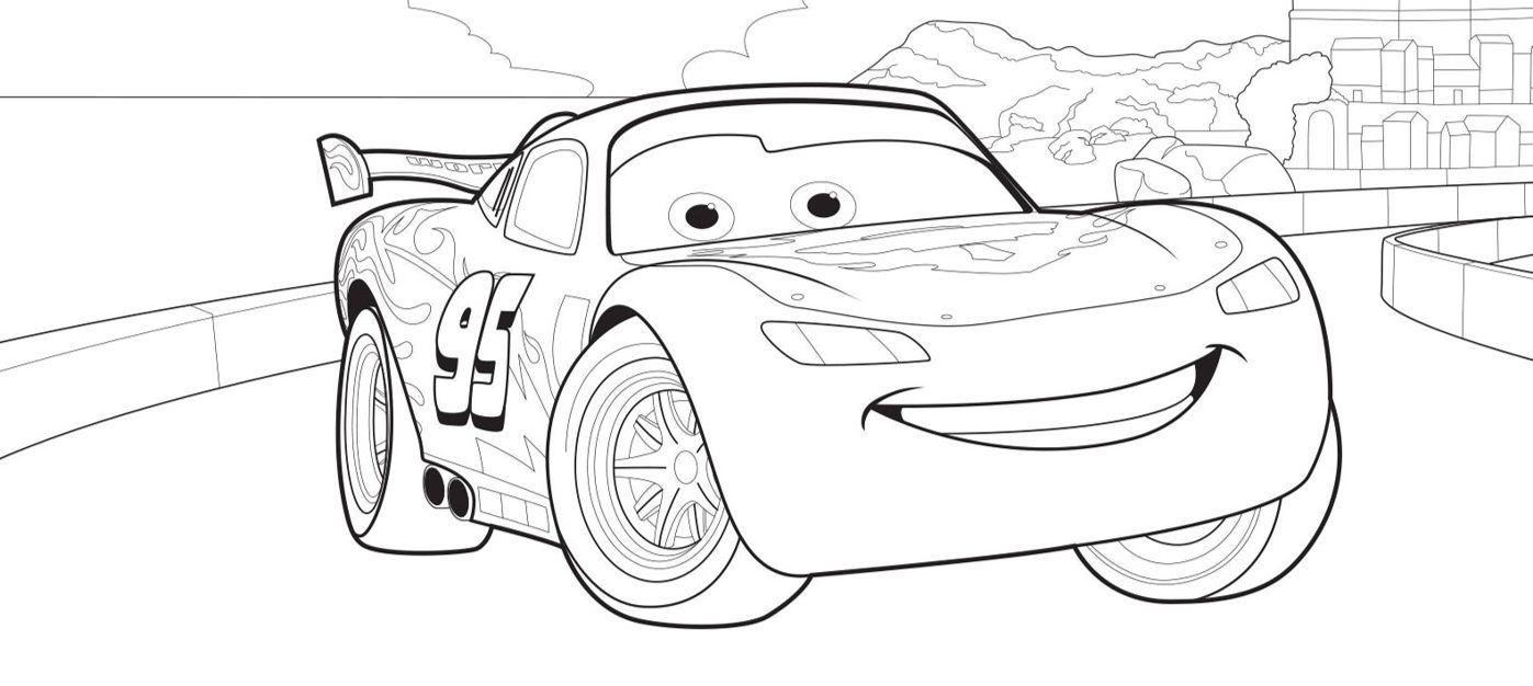 Disney Cars Auto Malvorlagen Lightning Mcqueen